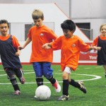 Indoor soccer youth